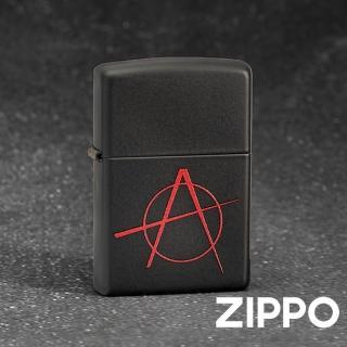 【Zippo】美系-無政府主義防風打火機(美國防風打火機)