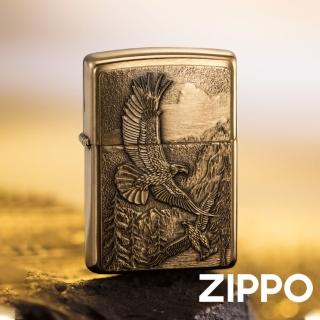 【Zippo】美系-高山鷹防風打火機(美國防風打火機)