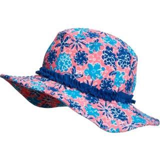 【德國Playshoes】嬰兒童抗UV防曬水陸兩用漁夫帽-碎花(護頸遮脖遮陽帽泳帽)