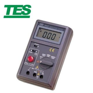 【TES 泰仕】數位式絕緣測試器 TES-1600(數位式絕緣測試器 絕緣測試器)