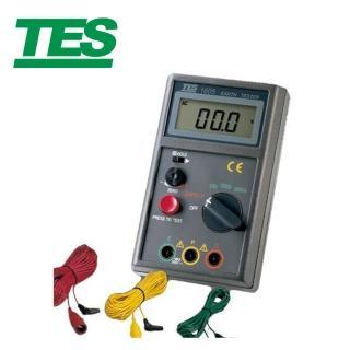 【TES 泰仕】數位接地電阻計 TES-1605(數位接地電阻計 接地電阻計)