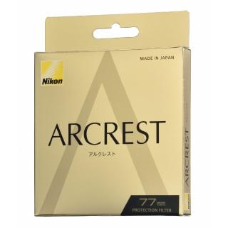 【Nikon 尼康】ARCREST PROTECTION FILTER 77MM原廠保護鏡(公司貨)
