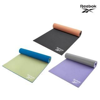 【REEBOK】專業訓練雙色瑜珈墊-6mm(共三色)