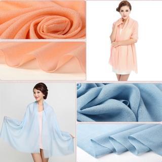 【ZANA】100%純羊毛80支極輕圍巾(7款任選)