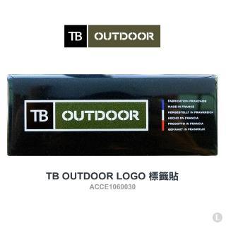 【TB OUTDOOR】LOGO 標籤貼(#ACCE1060030)