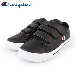 【Champion】Court Velcro Full C 魔鬼氈復古運動鞋 男鞋-黑(MFLS-9008-10)