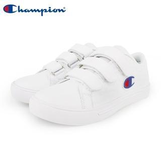 【Champion】Court Velcro Full C 魔鬼氈復古運動鞋 女鞋-白(WFLS-9008-06)