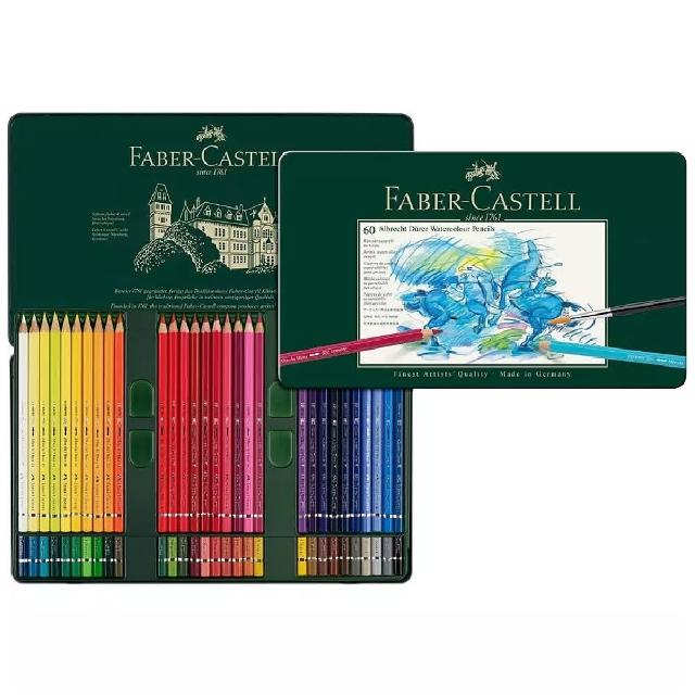 【Faber-Castell】117560 藝術級60色水性色鉛筆(色鉛筆)