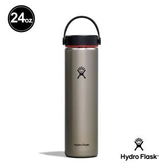 【Hydro Flask】新品|寬口霧面 24oz/710ml 不鏽鋼保冷 保溫瓶(板岩灰)
