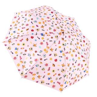 【rainstory】怪獸星球-粉抗UV個人自動傘