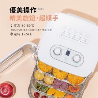 【廚房美機款 美國 AROMA】四層溫控乾果機 AFD-310A(附 30 種食材彩色食譜)