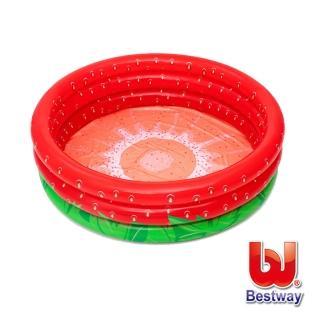 【BESTWAY】草莓甜心球池 泳池兩用池51145(遊戲池)