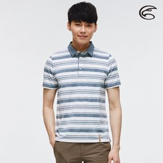 【ADISI】男短袖COOLMAX沁涼條紋休閒POLO衫 AL2011050 / M-2XL(涼感、透氣、輕量、吸濕排汗)