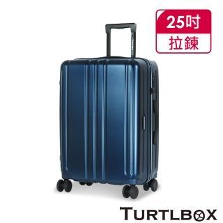 【TURTLBOX 特托堡斯】25吋 行李箱 日本Hinomoto靜音飛機輪 TB5(多色任選)