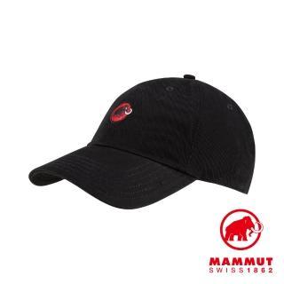 【Mammut 長毛象】Baseball Cap Mammut 經典棒球帽 黑色PRT1 #1191-00051