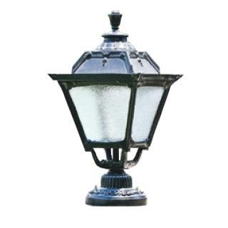 【大巨光】台製現代風1燈門柱燈(LW-09-5853)