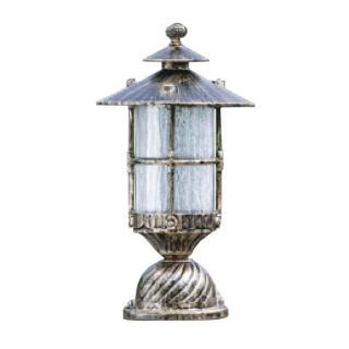 【大巨光】台製現代風1燈門柱燈(LW-09-5855)