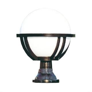 【大巨光】台製現代風1燈門柱燈(LW-09-585A)