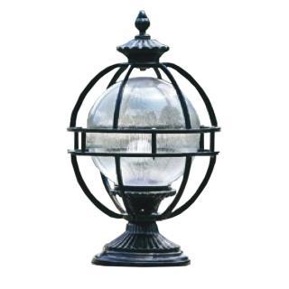 【大巨光】台製現代風1燈門柱燈(LW-09-585C)