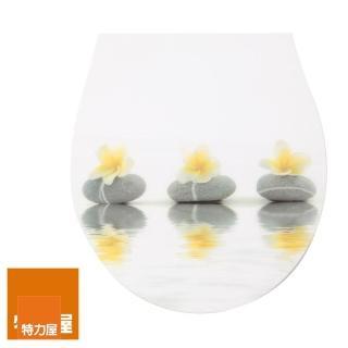 【特力屋】造型緩降快拆馬桶蓋 雞蛋花