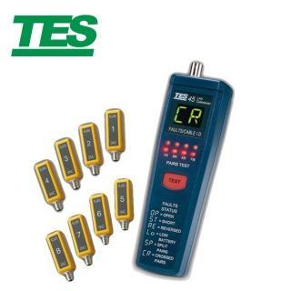 【TES 泰仕】網路纜線測試器TES-45(網路纜線測試器 網路線測試器)
