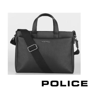 【POLICE】限量2折起 義大利潮牌 經典前衛公事包 福利品特價(PRYAMID系列 專櫃展示品99%新)