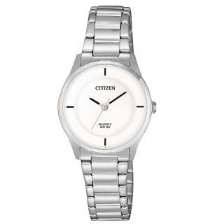 【CITIZEN 星辰】LADYS完美極簡時尚腕錶(ER0201-81B)