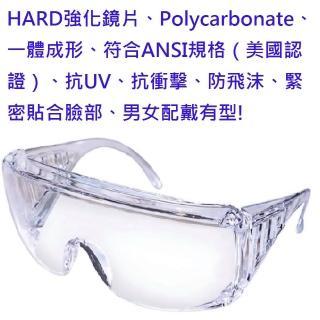 進口防塵、防風沙、防口沫護目鏡(非次級料品、耐用不退化、新型肺炎防疫)