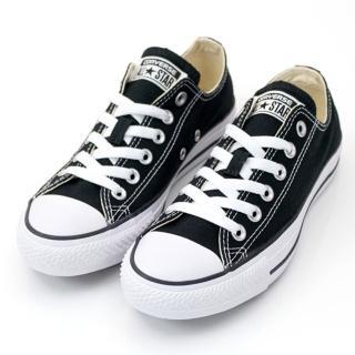 【CONVERSE】Chuck Taylor All Star -男女基本款低筒黑色休閒鞋- NO.M9166C