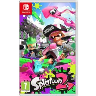 【Nintendo 任天堂】NS Switch 漆彈大作戰 2 英文歐版(Splatoon 2)