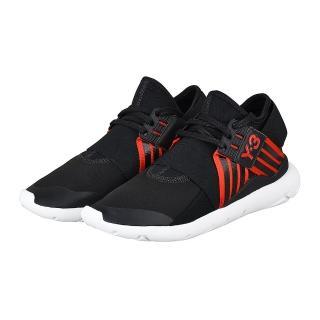 【Y-3 山本耀司】adidas Y-3 QASA ELLE LACE 武士忍者鞋(黑紅)