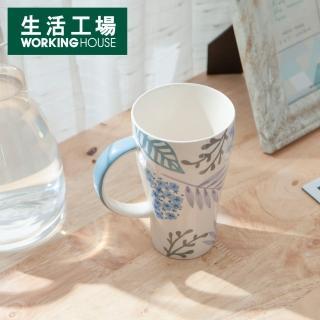 【生活工場】悠悠葉色馬克杯470ml