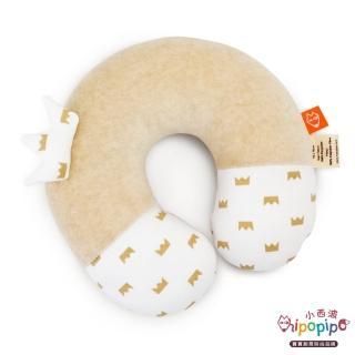 【hipopipo 小西波】有機棉皇冠小頸枕(護頸小幫手)