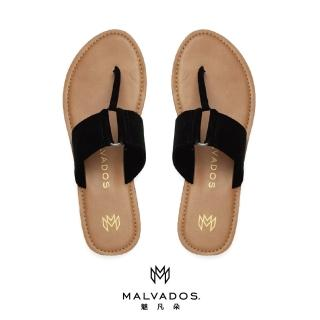 【Malvados 魅凡朵】經典時尚涼拖鞋 ICON SHEENA 席娜 - Black 黑色