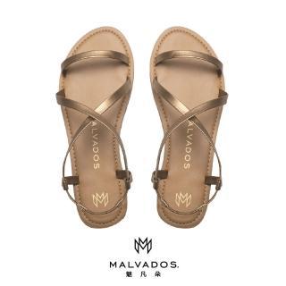 【Malvados 魅凡朵】經典時尚涼拖鞋 ICON ALANIS 艾拉妮斯 - Copper 黃銅