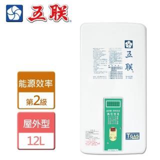 【五聯】戶外設置型熱水器-12公升-RF式(ASE-5932)
