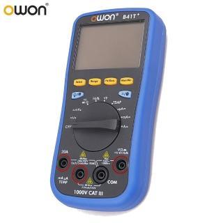 【OWON】OWON 智慧型4 1/2 TRMS三用電錶 B41T+(三用電錶)