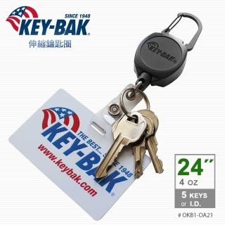 【WCC】KEY BAK Sidekick 伸縮鑰匙圈_識別證+鑰匙圈(#0KB1-0A21)