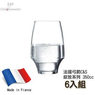 【C&S】法國Chef & Sommelier綻放系列水晶玻璃甜酒杯350ml(飲料杯/水晶杯/紅酒杯/果汁杯)