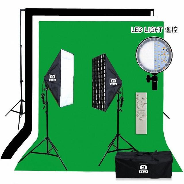 【YIDA】LED視訊個人直播攝影棚燈組(個人攝影棚