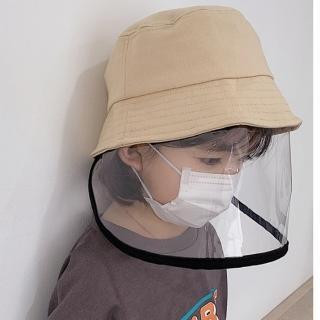 【HaNA 梨花】安全戶外出行疫情期間防飛沫噴濺防疫帽遮陽帽多色大人小孩款(防疫帽)