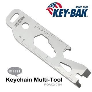 【WCC】KEY BAK Keychain Multi-Tool 多功能工具(#0AC2-0101)