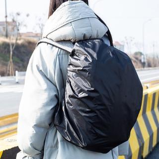 【E.City】210D防水彈性背包登山包防水防塵套(保護背包免於淋溼)