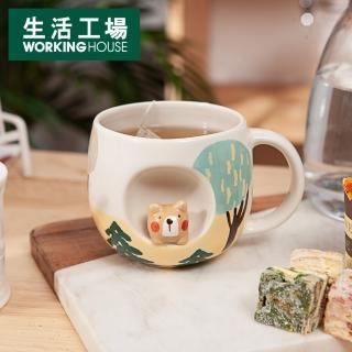 【生活工場】動物森林馬克杯290ml