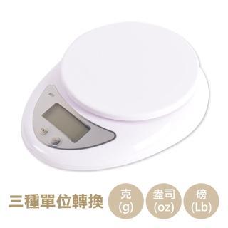 【台灣霓虹】多功能家用液晶電子秤5kg