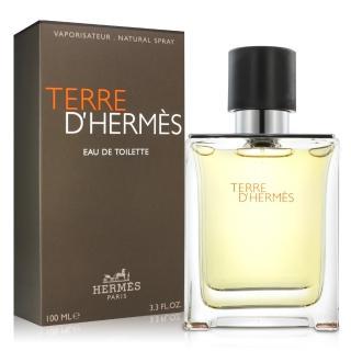 【Hermes 愛馬仕】Terre D Hermes 大地男性淡香水100ml(平輸)
