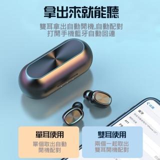 【alfastar】觸控式雙耳真無線藍牙耳機(運動耳機 TWS)
