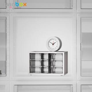 【livinbox 樹德】小幫手零件分類箱-9抽 A9-309(小物收納/可堆疊/透明/收屜/收納盒/收納箱)
