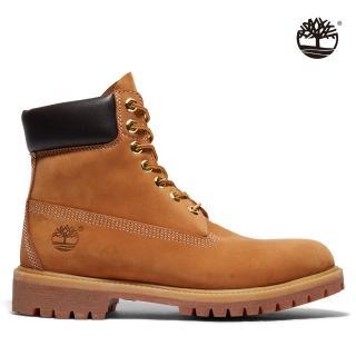 【Timberland】男款小麥黃經典防水6吋靴(10061713)