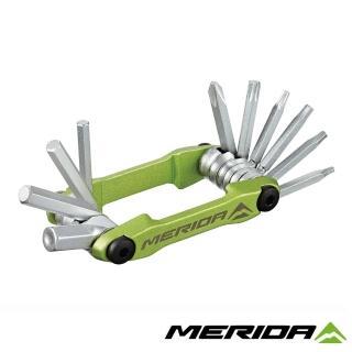 【MERIDA 美利達】10合1簡易隨身工具組 4302(補修/維修/板手/單車/自行車)